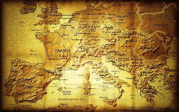 old_europe_map